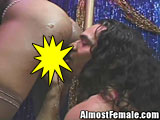 Tranny gets ass licked