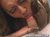 Asian Tranny gets Ass Banged