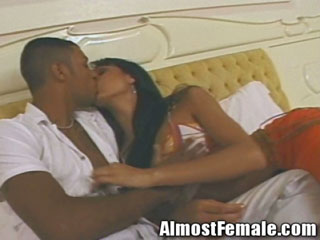 Latina Shemale Gets Afternoon Delight Fuck