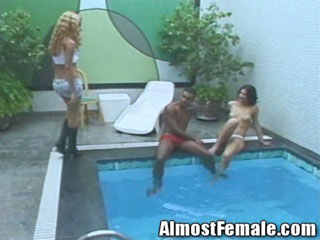 Trannies Fuck The Pool Boy