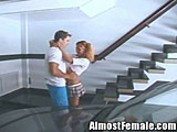 School Girl Tranny Get Fucked By Neighbor
